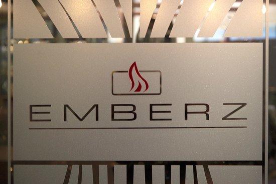 Emberz Restaurant: Emberz Logo