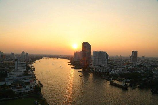 Chatrium Hotel Riverside Bangkok : Good scenery alongside the Chao Pra Ya River