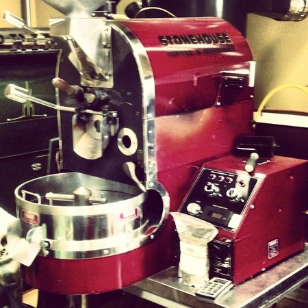 StoneHouse Coffee & Roastery: One of the coffee roasters
