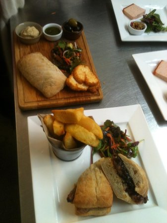 The White Horse Pub: On the pass