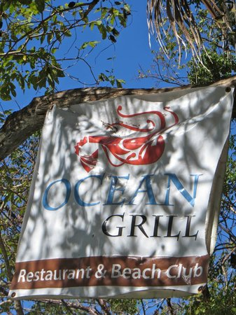 Ocean Grill Restaurant & Beach Club: Arrived!