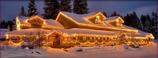 The Pancake House and Christmas Shop : Picture Post Card Perfect