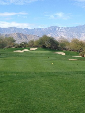 Desert Willow Golf Resort : Beautiful view.