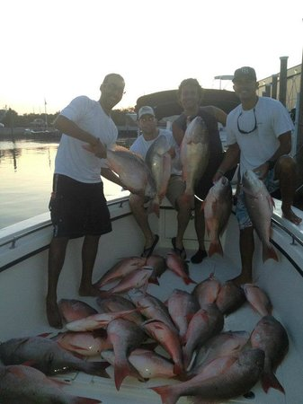 Far Out Fishing Charters: good mutton bite
