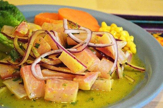 Chuyos Peruvian Fusion Deli : Peruvian Fish Ceviche