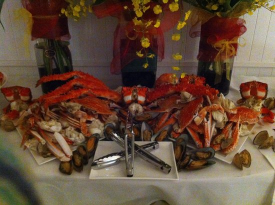 Reef House Restaurant : Buffet function
