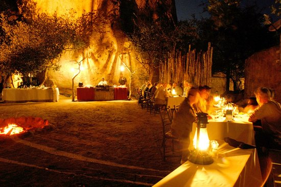 Kwa Madwala Private Game Reserve: Boma Dinner