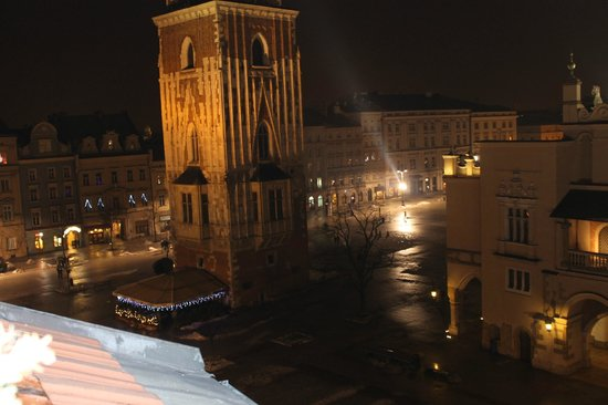 Hotel Wentzl: View from Room 41