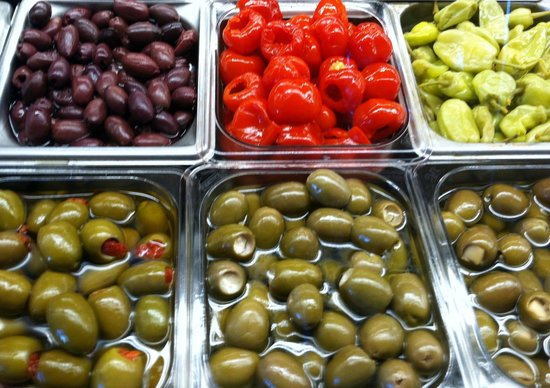 Sorrento's: Colorful accompaniments