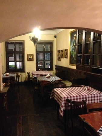 Slovak Pub: View of the first room