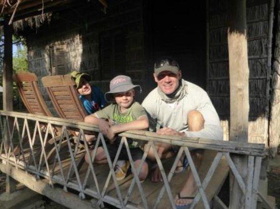 Rana : Deck of the hut