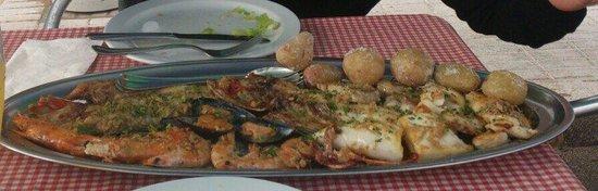 Casa Ramon : Parrillada de pescado y marisco
