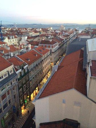 Cidade Baixa: Vista do Elevador de Santa Justa
