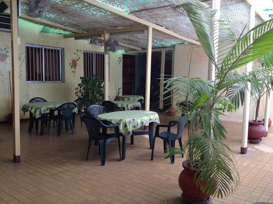Hotel Al Baraka : Breakfast room