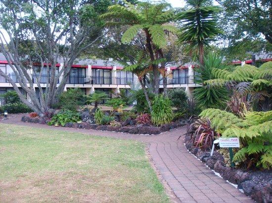 Holiday Inn Auckland Airport: Interior courtyard.