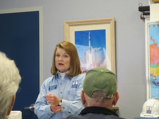 Titan Missile Museum: Marge - crew member and fantastic tourguide