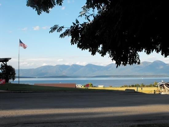 Polson / Flathead Lake KOA: Across the Flathead Lake