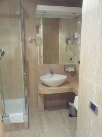BEST WESTERN Hotel Rome Airport: Bagno