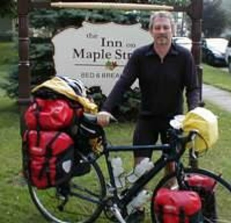 The Inn on Maple Street Bed & Breakfast : Bike route 6 which is one block from our Inn