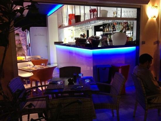 La Pause : lounge section