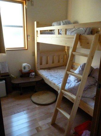 Minshuku Torokko No Yado : 2段ベッドの部屋