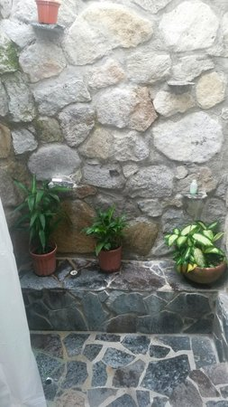 Hotel Rincon Vallero: Baño de la habitacion