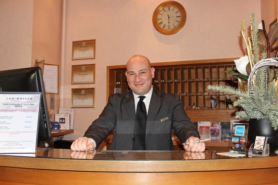 Albergo Cesari: Our gorgeous service