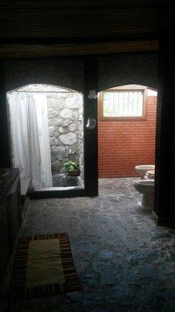 Hotel Rincon Vallero: Baño de la habitacion Junior swet
