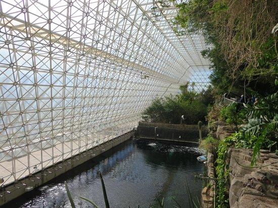 Biosphere 2 : Ocean and saltwater marsh biome areas