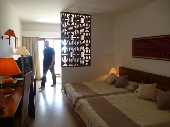 The Orangers Beach Resort & Bungalows: Deluxe seaview room