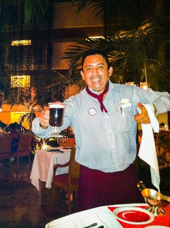 Sunset Royal Beach Resort : Mayan Fire Coffee - A Must!