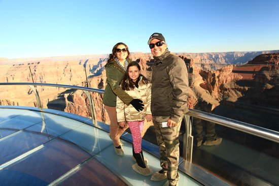 Grand Canyon Skywalk: Delicia!