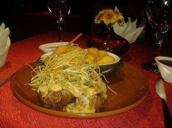 Cafe Restaurant El Tapado: El lomo a la plancha. Riquisimo