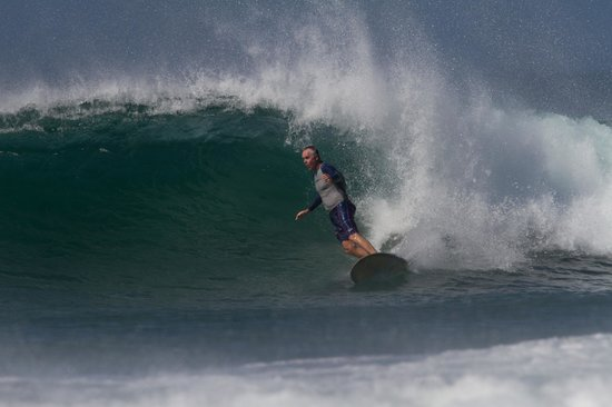 Cafe Playa Negra: The surf at Playa Negra (that's me)