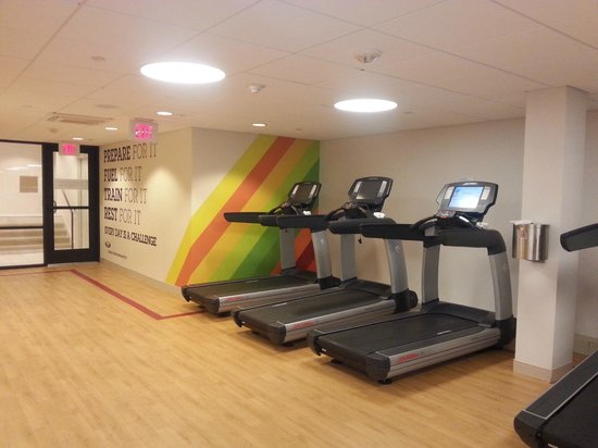 Sheraton Pentagon City Hotel : hotel gym