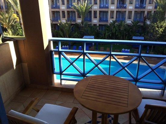 Le Médina Essaouira Hôtel Thalassa Sea & Spa - MGallery Collection : View from balcony 2