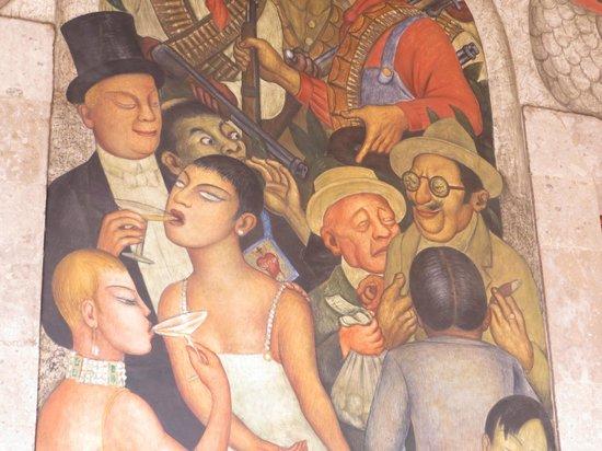 Murales de Diego Rivera en la Secretaría de Educacion Publica: diego's murals