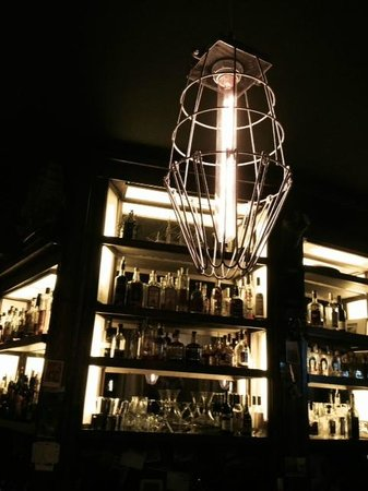 Storm Rhum Bar & Bistro: One of the many awesome industrial touches at the bar