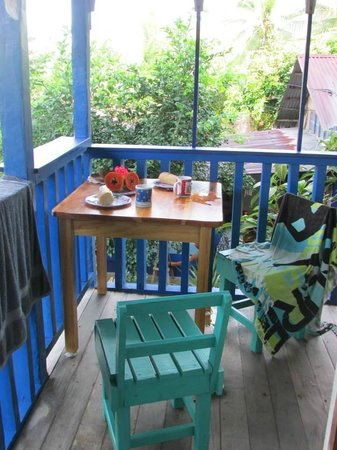 Hotel Los Suenos: Desayuno en el balcón