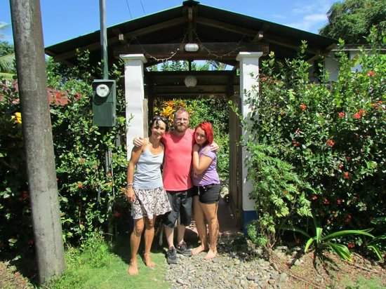 Hotel Los Suenos : Adeline, Matilde y yo