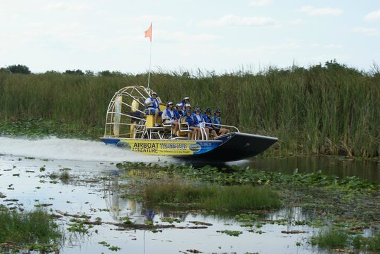 Capt, Bob's Airboat Adventure Tours