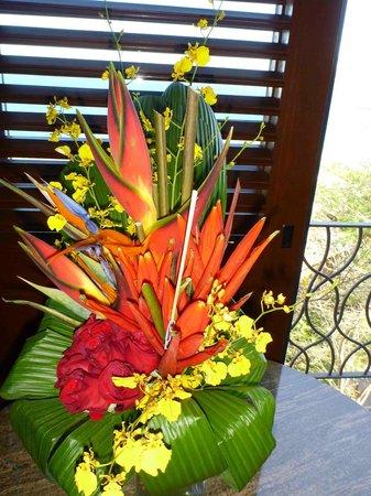Four Seasons Resort Costa Rica at Peninsula Papagayo : Flower arrangement