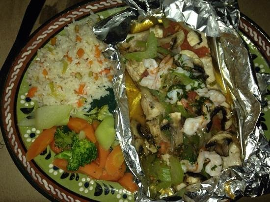 Melissa's: mahi mahi dinner