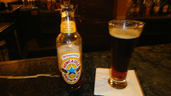 Sandals Royal Bahamian Spa Resort & Offshore Island: beer from the irish pub