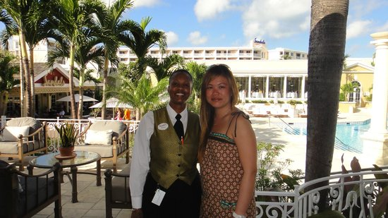 Sandals Royal Bahamian Spa Resort & Offshore Island : Our other amazing butler ...Melissa
