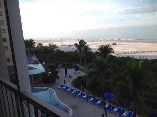 Pink Shell Beach Resort & Marina: Balcony views