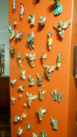 Kusillo's Posada: Jenny´s collection of ceramic angels