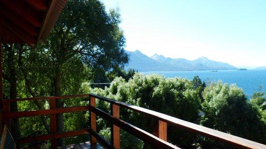 Apart Hotel Cabanas Balcon al Lago: Una de las tantas vistas al paraíso