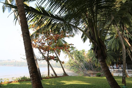 Bambolim Beach Resort: beach view