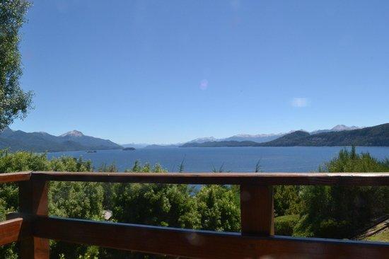 Apart Hotel Cabanas Balcon al Lago: Desde el balcón